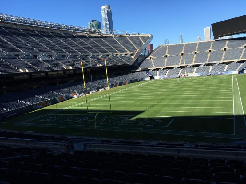 Seating view for Soldier Field Section 220 Row 10 Seat 11