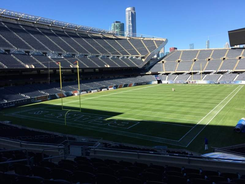 Seating view for Soldier Field Section 219 Row 9 Seat 9