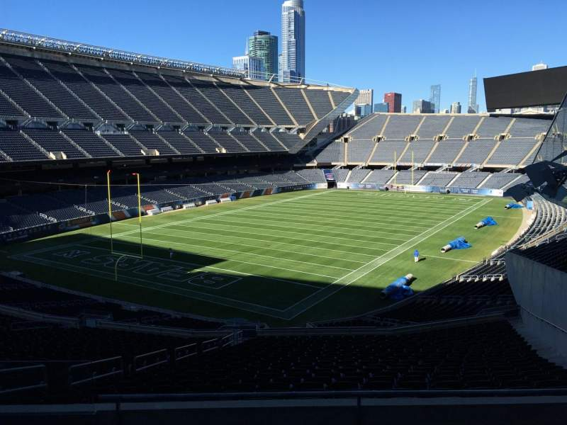 Seating view for Soldier Field Section 318 Row 5 Seat 9