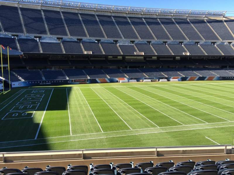 Seating view for Soldier Field Section 213 Row 7 Seat 10