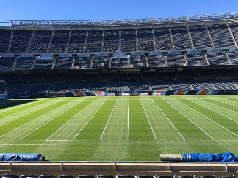 Seating view for Soldier Field Section 209 Row 8 Seat 12