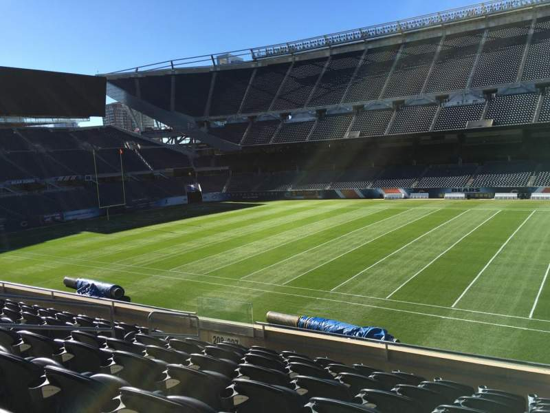 Seating view for Soldier Field Section 207 Row 8 Seat 9