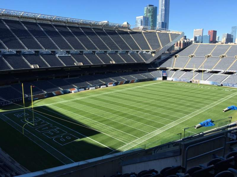 Seating view for Soldier Field Section 316 Row 12 Seat 10