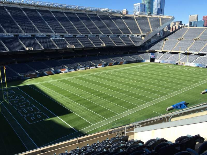 Seating view for Soldier Field Section 315 Row 10 Seat 10