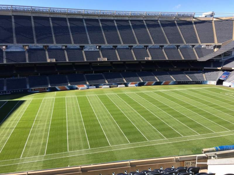 Seating view for Soldier Field Section 311 Row 10 Seat 10