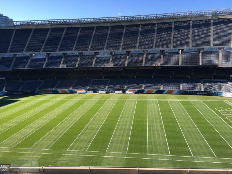 Seating view for Soldier Field Section 307 Row 10 Seat 11