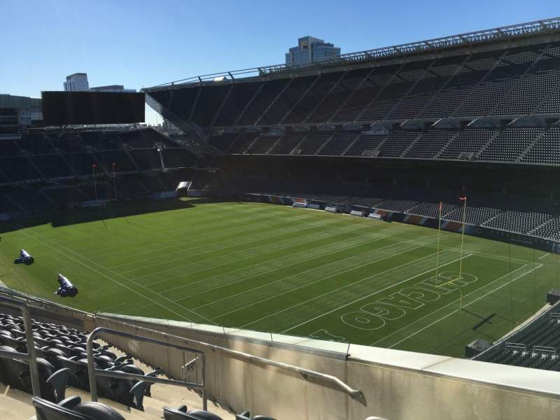 Seating view for Soldier Field Section 301 Row 14 Seat 5