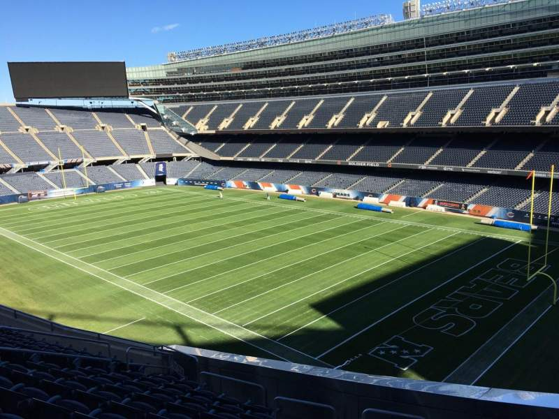 Seating view for Soldier Field Section 330 Row 11 Seat 13