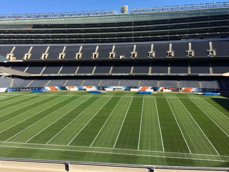 Seating view for Soldier Field Section 335 Row 6 Seat 9