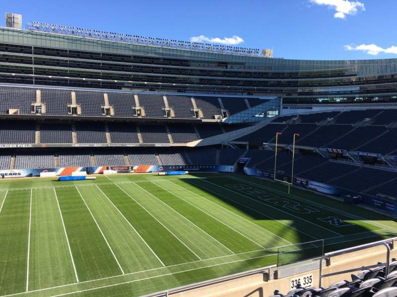 Seating view for Soldier Field Section 336 Row 6 Seat 20