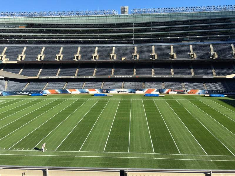 Seating view for Soldier Field Section 336 Row 6 Seat 10