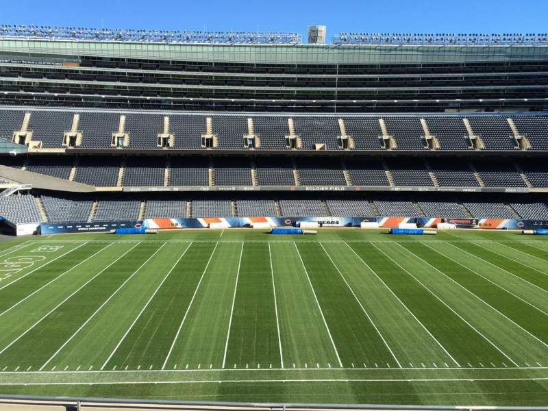 Seating view for Soldier Field Section 339 Row 6 Seat 10