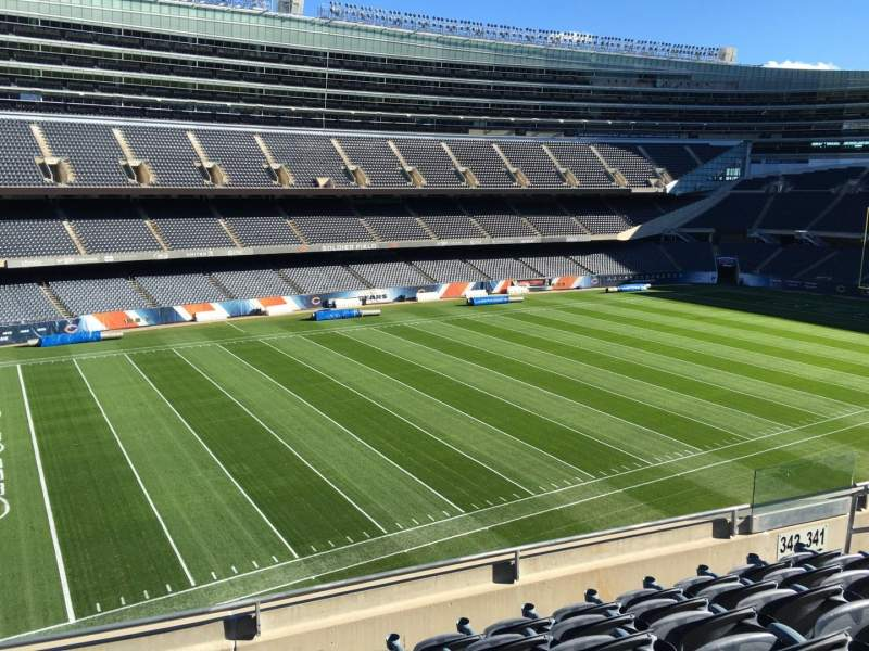 Seating view for Soldier Field Section 342 Row 6 Seat 9