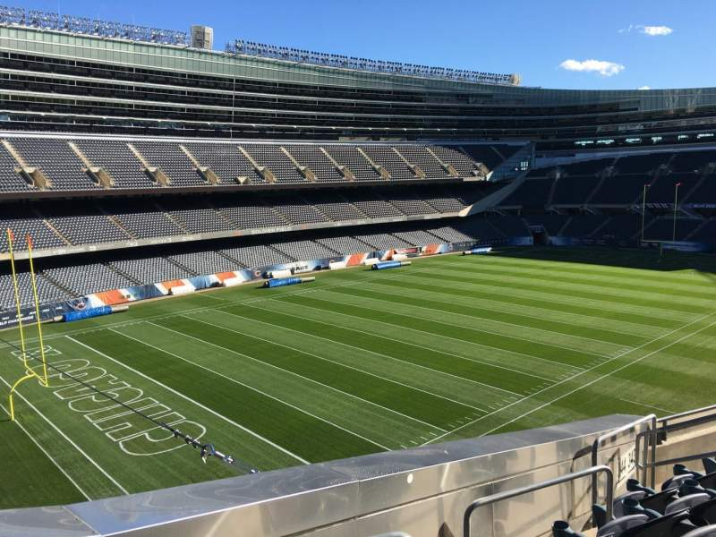 Seating view for Soldier Field Section 344 Row 6 Seat 15