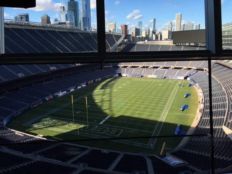 Seating view for Soldier Field Section Suite B39