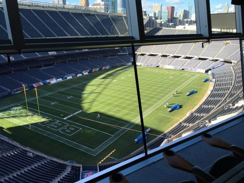 Seating view for Soldier Field Section Suite B34