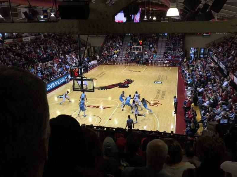 Seating view for Hagan Arena Section 216 Row 11 Seat 12