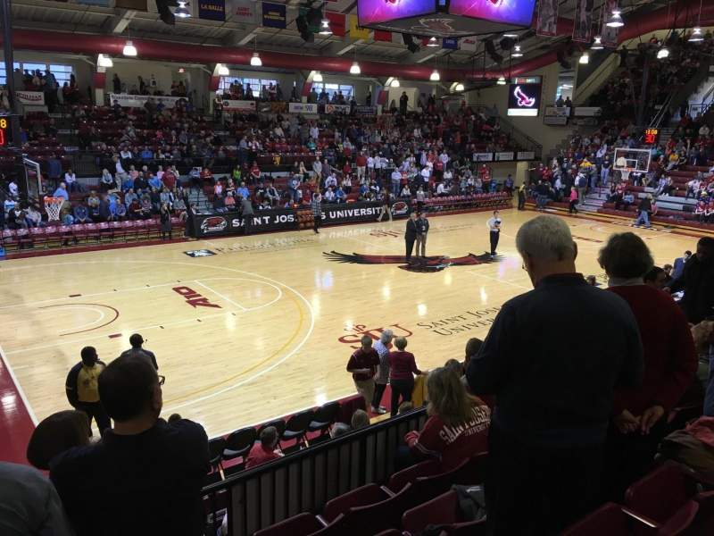Seating view for Hagan Arena Section 214 Row 5 Seat 14