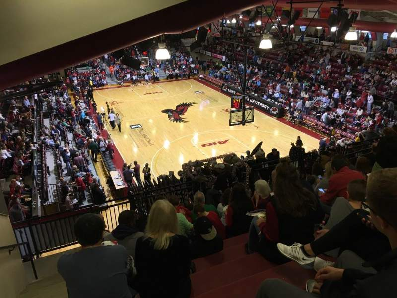 Seating view for Hagan Arena Section 209 Row 12 Seat 13