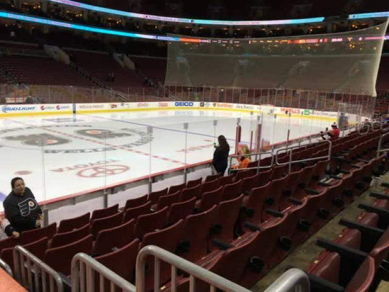 Seating view for Wells Fargo Center Section 124 Row 9 Seat 7