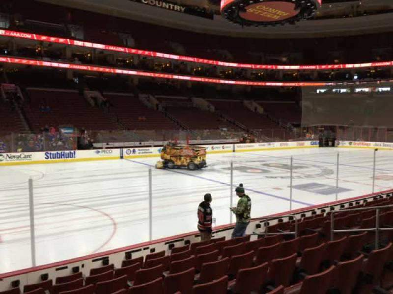 Seating view for Wells Fargo Center Section 111 Row 9 Seat 7