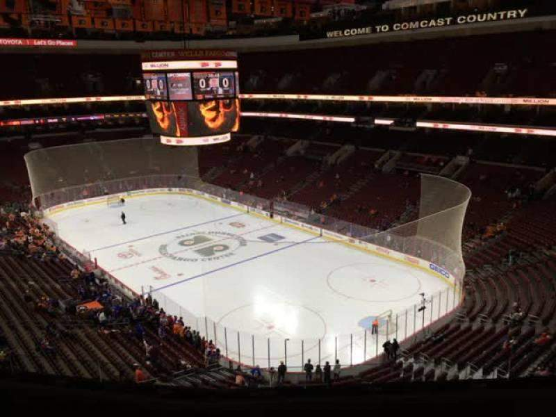 Seating view for Wells Fargo Center Section 205 Row 6 Seat 8