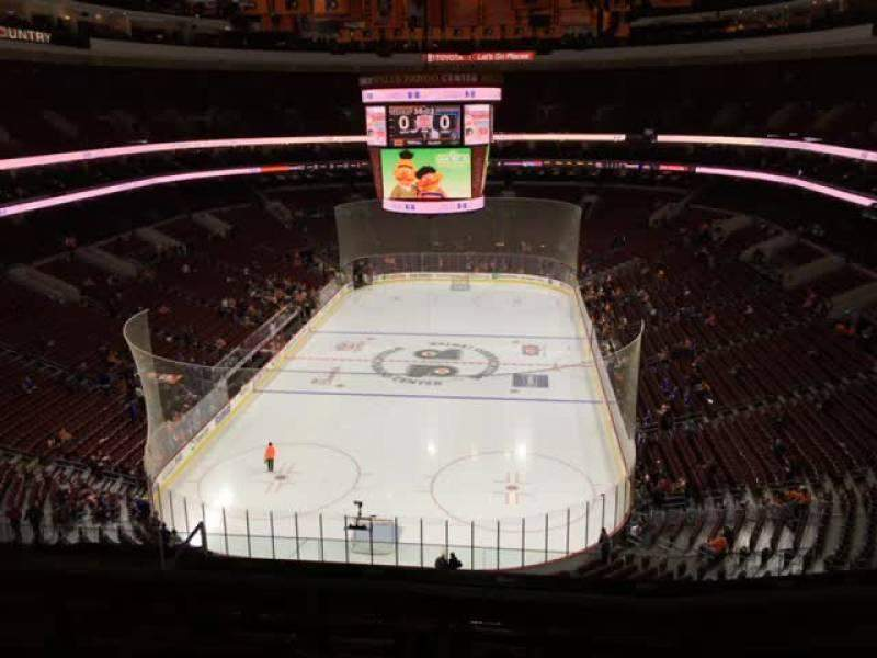 Seating view for Wells Fargo Center Section 207a Row 7 Seat 10