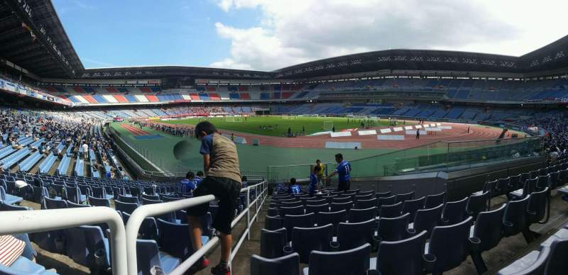 Seating view for Nissan Stadium (Yokohama) Section Lower Stand Row 15 Seat 1