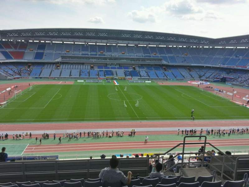 Seating view for Nissan Stadium (Yokohama) Section Upper Stand Row 20 Seat 330