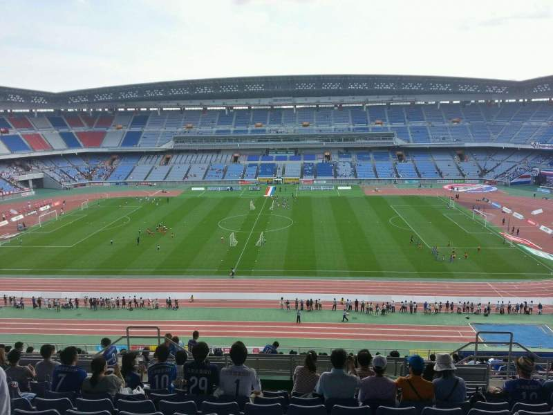 Seating view for Nissan Stadium (Yokohama) Section Upper Stand Row 24 Seat 428