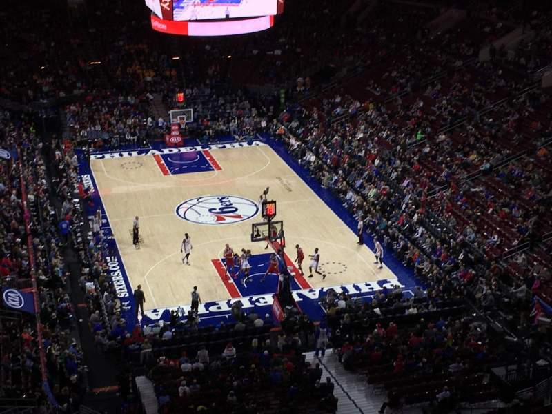 Seating view for Wells Fargo Center Section 106 Row 12 Seat 15