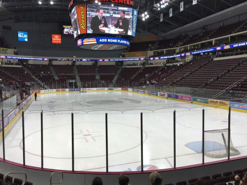 Seating view for Giant Center Section 125 Row J Seat 4