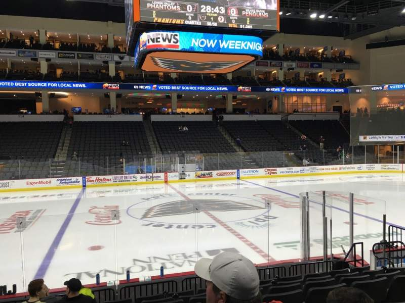 Seating view for PPL Center Section 105 Row 10 Seat 10