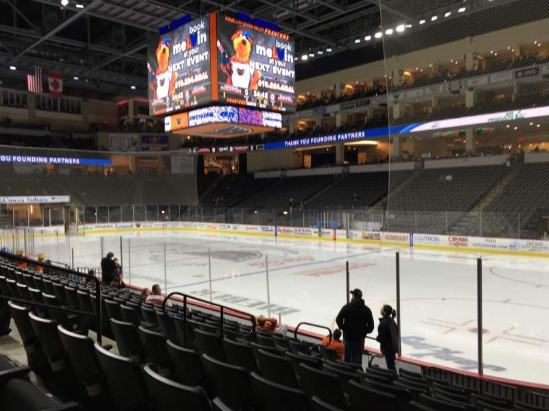 Seating view for PPL Center Section 102 Row 10 Seat 4
