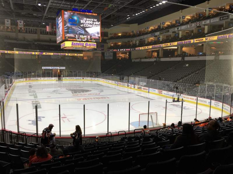 Seating view for PPL Center Section 122 Row 14 Seat 8