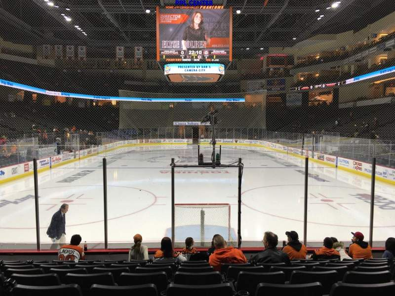 Seating view for PPL Center Section 121 Row 9 Seat 11