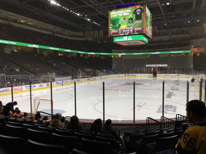 Seating view for PPL Center Section 120 Row 9 Seat 5