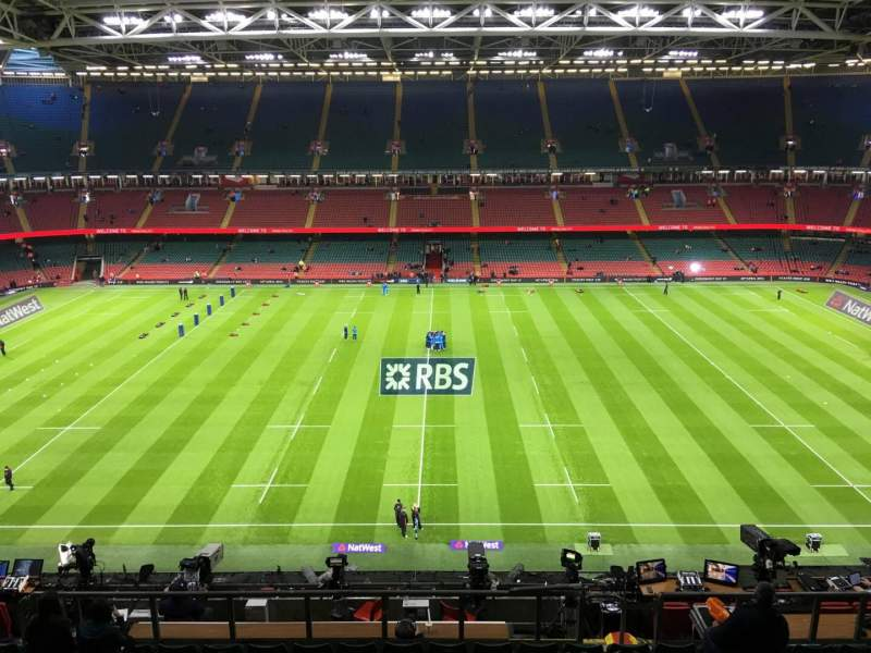 Seating view for Principality Stadium Section U30 Row 18 Seat 18