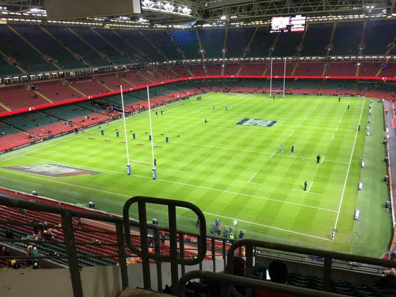 Seating view for Principality Stadium Section U38 Row 14 Seat 3