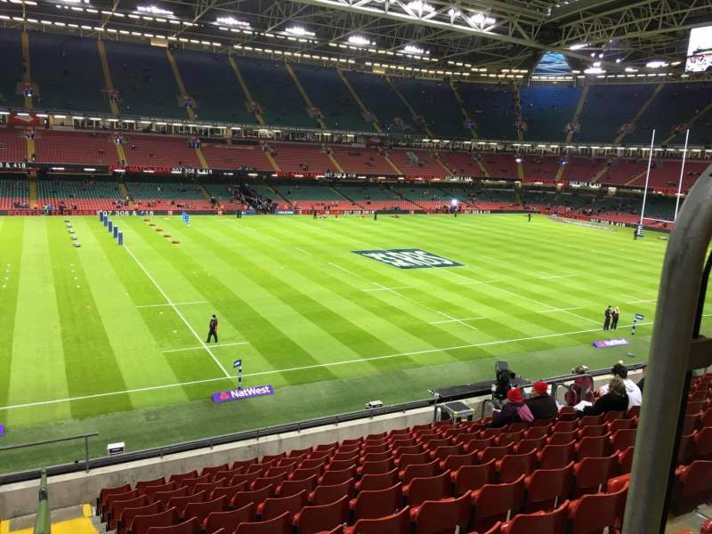 Seating view for Principality Stadium Section M33 Row 11 Seat 12