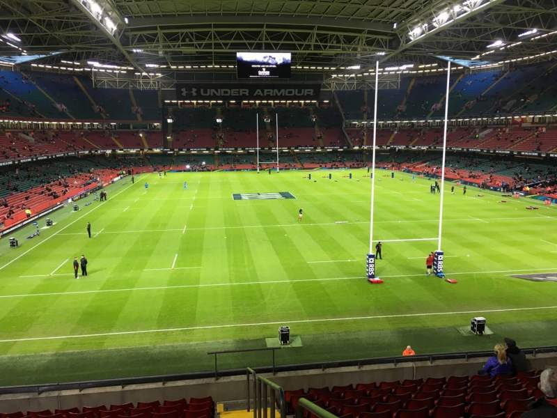 Seating view for Principality Stadium Section M20 Row 11 Seat 26