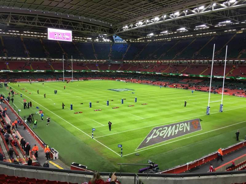 Seating view for Principality Stadium Section M2 Row 12 Seat 16
