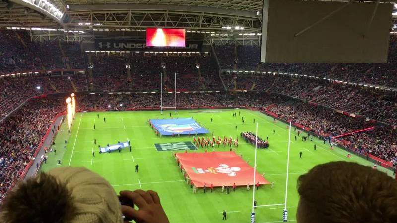 Seating view for Principality Stadium Section 621 Row 26 Seat 5