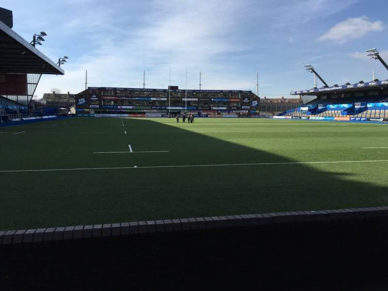Seating view for Cardiff Arms Park Section 19 Row C Seat 12