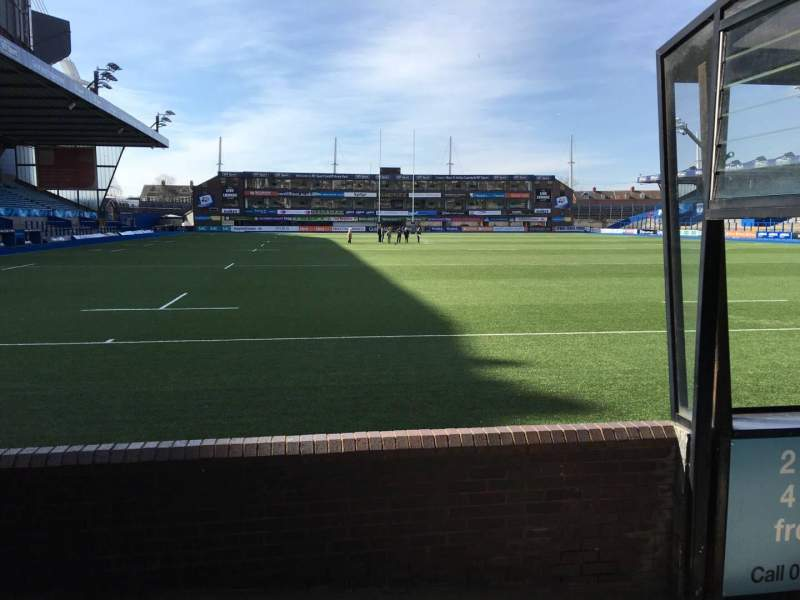 Seating view for Cardiff Arms Park Section 19 Row D Seat 5