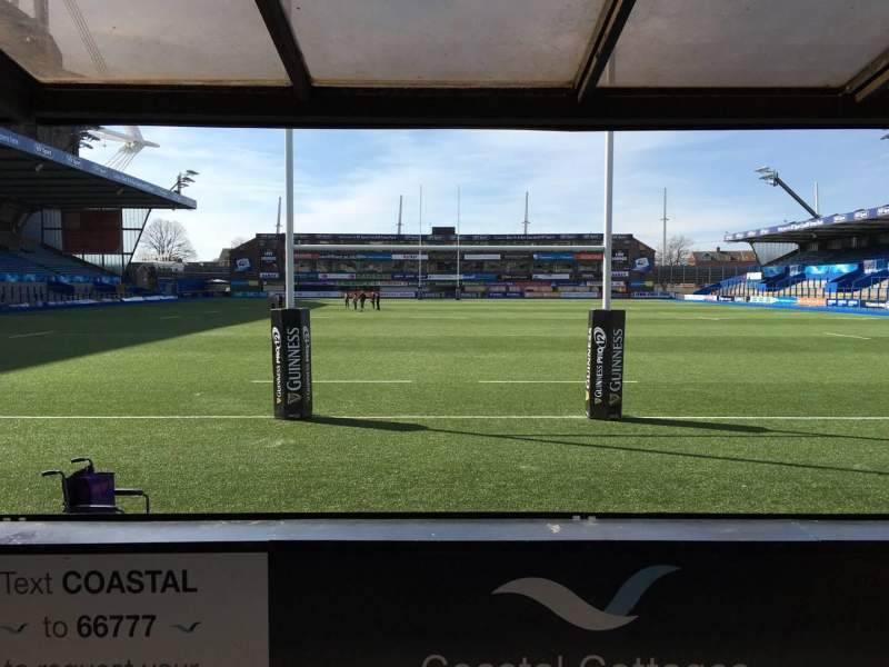 Seating view for Cardiff Arms Park Section 17 Row D Seat 26