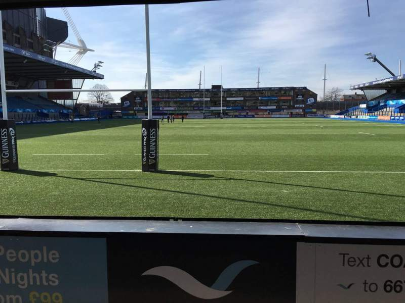 Seating view for Cardiff Arms Park Section 17 Row C Seat 15