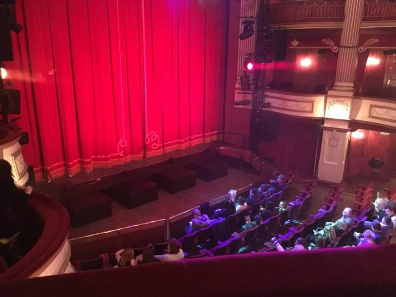Seating view for New Theatre (Cardiff) Section Circle Row B Seat 4
