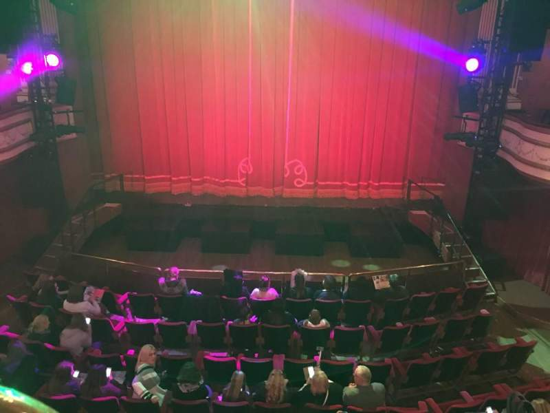 Seating view for New Theatre (Cardiff) Section Circle Row A Seat 27