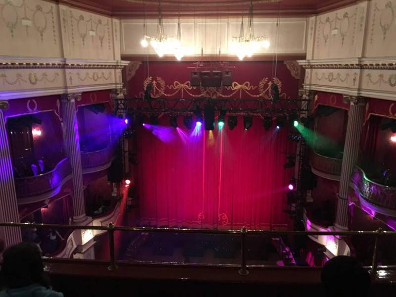 Seating view for New Theatre (Cardiff) Section Upper Circle Row C Seat 18